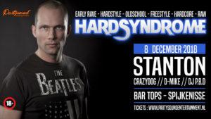 HardSyndrome – Stanton – Bar Tops Spijkenisse